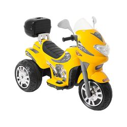 Moto-Eletrica-Sprint-Turbo---Amarela-12v----Biemme