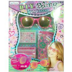 Kit-Oculos-De-Sol-Fashion-Rosa---Shiny-Toys
