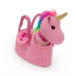Bolsinha-Barbie-Pelucia-Unicornio-Rosa---Fun-Toys
