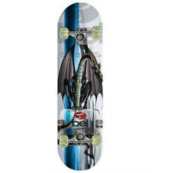Skateboard-Com-Kit-Protetor-Dragao-Negro---Belfix