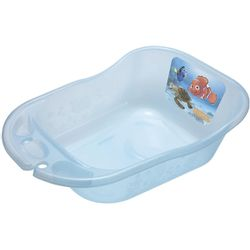 Banheira-34-L-Transparente-Azul-Glitter-Nemo-Disney---Styll-Baby