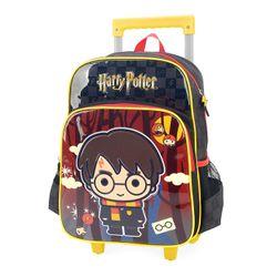 Mochila-com-Rodinha-Harry-Potter-Preto---Luxcel